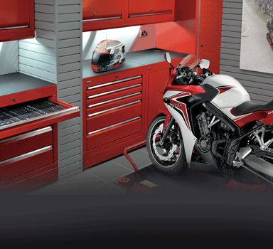 Motorcycle Garage Fit-Out.