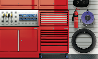 Motorcycle Enthusiasts Tool Cabinet