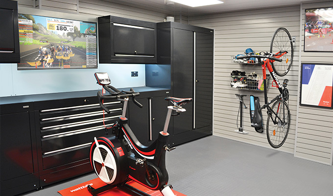 Dura Garages training at home garage ideas