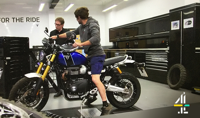 Dura make cameo TV appearance in Guy Martin's Great Escape