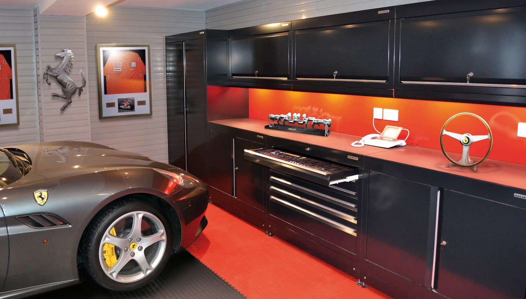 Home Workshops Amp Car Themed Garages From Dura Garages