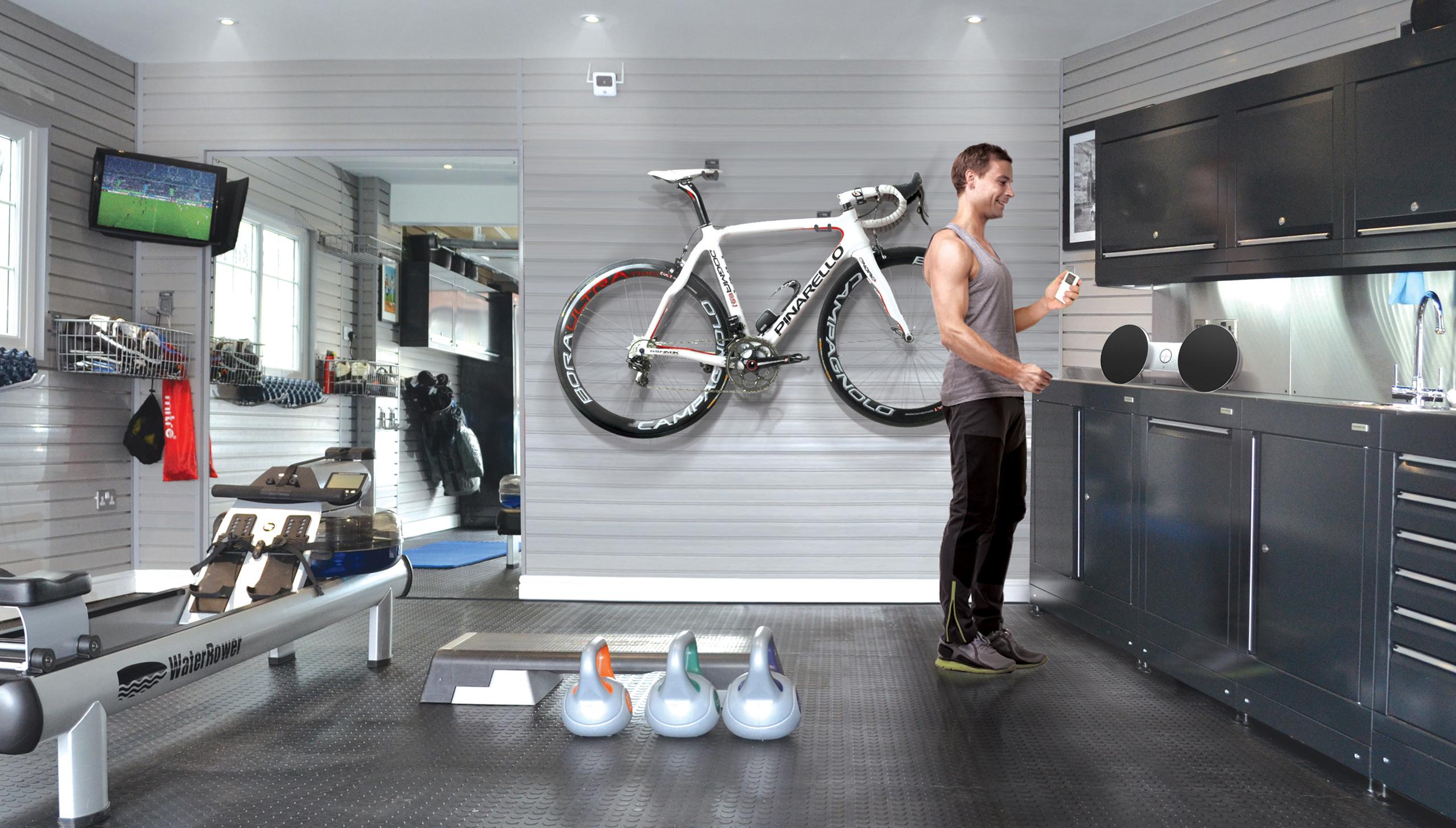 Garage Gym S Amp Cyclist S Garages From Garage Experts Dura